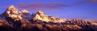 Teton Range Mountains, Grand Teton National Park, Wyoming Fine-Art Print