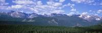 Mountains fr Beaver Meadows Rocky Mt National Park CO USA Fine-Art Print
