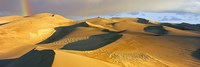Rainbow at Great Sand Dunes National Park, Colorado, USA Fine-Art Print