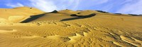 Sand dunes in a desert, Great Sand Dunes National Park, Colorado, USA Fine-Art Print