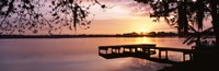 Lake Whippoorwill, Sunrise, Florida Fine-Art Print
