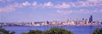 Puget Sound, City Skyline, Seattle, Washington State, USA Fine-Art Print