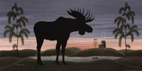 Moose at Dusk Fine-Art Print