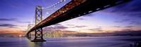 Bay Bridge at Twilight Fine-Art Print