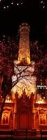 Night, Old Water Tower, Chicago, Illinois, USA Fine-Art Print