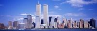 USA, New York City, with World Trade Center Fine-Art Print