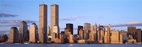 Skyline with World Trade Center Fine-Art Print