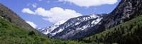 Clouds over mountains, Little Cottonwood Canyon, Salt Lake City, Utah, USA Fine-Art Print