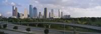 Houston Skyline from a Distance, Texas, USA Fine-Art Print