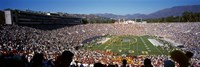 Spectators watching a football match, Rose Bowl Stadium, Pasadena, City of Los Angeles, Los Angeles County, California, USA Fine-Art Print