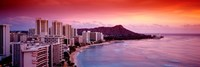 Sunset Honolulu Oahu HI USA Fine-Art Print