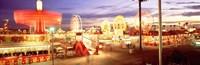 Ferris wheel in an amusement park, Arizona State Fair, Phoenix, Arizona, USA Fine-Art Print