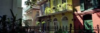 Buildings along the alley, Pirates Alley, New Orleans, Louisiana, USA Fine-Art Print