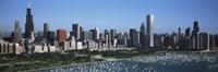Chicago Skyline with Water Fine-Art Print