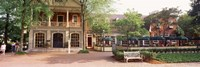 Tourist In Town Square, Williamsburg, Virginia, USA Fine-Art Print