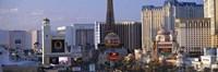 Hotels on the Strip Las Vegas NV Fine-Art Print