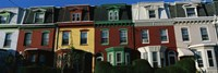 Row Houses Philadelphia PA Fine-Art Print