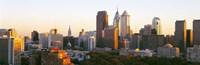 Philadelphia in the Sun, Panoramic View Fine-Art Print