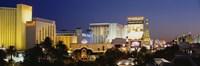 Las Vegas at dusk, Nevada Fine-Art Print