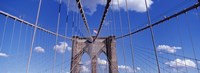Brooklyn Bridge Cables and Tower, New York City Fine-Art Print