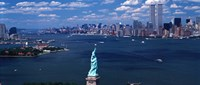 Statue of Liberty with New York City Skyline Fine-Art Print
