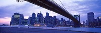 Brooklyn Bridge and New York City Skyline Fine-Art Print