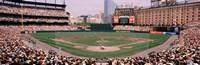 High angle view of a baseball field, Baltimore, Maryland Fine-Art Print
