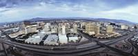 Aerial view of a city, Las Vegas, Nevada Fine-Art Print