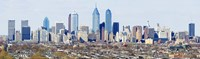 Philadelphia skyline, Pennsylvania, USA Fine-Art Print