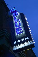 The Blue Room Jazz Club, 18th & Vine Historic Jazz District, Kansas City, Missouri, USA Fine-Art Print