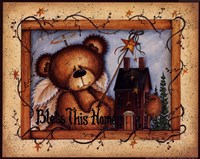 Bless This Home (bear) Fine-Art Print