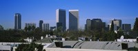 Buildings and skyscrapers in a city, Century City, City of Los Angeles, California, USA Fine-Art Print