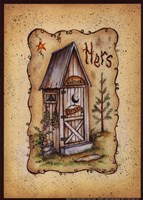 Her Outhouse Fine-Art Print