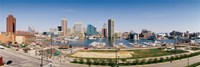Baltimore, Maryland skyline Fine-Art Print