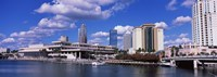 Buildings at the coast, Tampa, Hillsborough County, Florida, USA Fine-Art Print