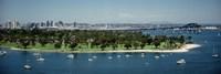 Bridge across a bay, Coronado Bridge, San Diego, California, USA Fine-Art Print