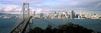 San Francisco skyline with Bay Bridge, California, USA Fine-Art Print