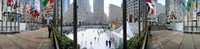 360 degree view of a city, Rockefeller Center, Manhattan, New York City, New York State, USA Fine-Art Print