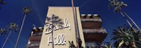 Low angle view of a hotel, Beverly Hills Hotel, Beverly Hills, Los Angeles County, California, USA Fine-Art Print
