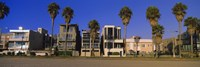 Buildings in a city, Venice Beach, City of Los Angeles, California, USA Fine-Art Print