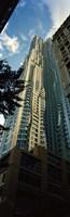 Low angle view of an apartment, Wall Street, Lower Manhattan, Manhattan, New York City, New York State, USA Fine-Art Print