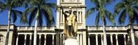 Statue of King Kamehameha, Aliiolani Hale, Honolulu, Hawaii Fine-Art Print