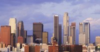 Los Angeles skyline, Los Angeles County, California, USA Fine-Art Print