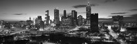 Atlanta skyline in black and white, Georgia, USA Fine-Art Print