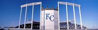 Baseball stadium, Kauffman Stadium, Kansas City, Missouri, USA Fine-Art Print