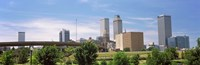 Downtown Tulsa from Centennial Park, Oklahoma Fine-Art Print