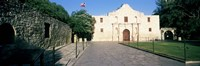 Facade of a building, The Alamo, San Antonio, Texas Fine-Art Print