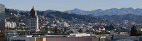 High angle view of Beverly Hills, West Hollywood, Hollywood Hills, California Fine-Art Print