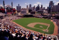 Home of the Detroit Tigers Baseball Team, Comerica Park, Detroit, Michigan, USA Fine-Art Print