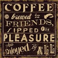 Coffee Quote II Fine-Art Print